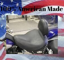 Harley Davidson DELUXE Driver Backrest EZ ON/OFF  Complete System