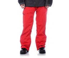 Aperture Definition Pants Ski Snowboard 10k Waterproof Mens Red XL