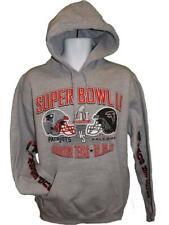 New England Patriots Vs. Atlanta Falcons Super Bowl LI Mens M-L-XL-2XL Hoodie