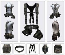 Kaya Life KL-900 Series Military Suspender Belt X-Band Multi Pouch Tool Bag Set