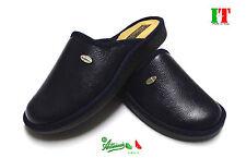 Pantofole ciabatte uomo MADEinITALY comode calde cucite flessibili Rondine 2091