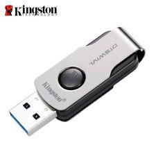Kingston 16GB 32GB 64GB USB 3.1 DataTraveler SWIVL capless design swivel drive