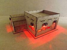 TROUPE Caserne DEL warhammer 40k/Wargame/Infinity Building/Terrain/plongés