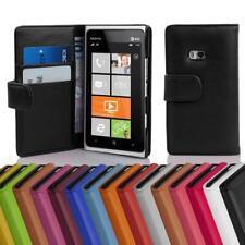 Custodia Cover per Nokia Lumia 900 Libri Case con slot per schede