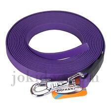 Longe plate biothane - 16 mm - 5 m - violet - jokidog
