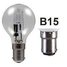 B15 SBC Small Bayonet Eveready Halogen ECO Golf Balls 20w= 25w 33w= 40w 48w= 60w
