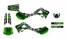 1999 2000 2001 2002 Kawasaki KX125 KX250 graphics deco kit #2500 Green