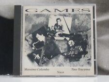 MASSIMO COLOMBO / TINO TRACANNA / NACO - GAMES CD EXCELLENT+