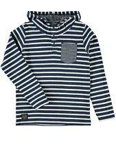 Name it niños jóvenes camisa strib ls top W Hood NMT manga larga capucha en 2 colores