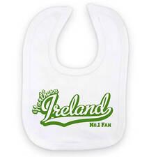 NORTHERN IRELAND Football Baby Bib: No.1 Fan