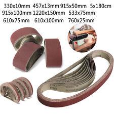 Tools 6pcs 2 X 72 Fine Grit Sanding Belt Sandpaper Sander Abrasive Band 5x 182cm