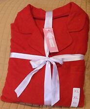 Covington Ladies Micro Fleece Pajamas - Sz XL - Solid Red!    NWT!