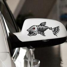 2pcs Skeleton Fish Bones Vinyl Decal Sticker Kayak Fishing Boat Car Graphics