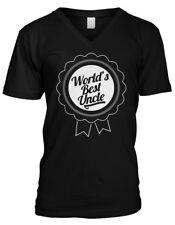 World's Best Uncle Award - Ribbon Family Favorite Mens V-neck T-shirt
