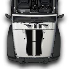 4x4 Sticker Decal Vinyl Hood Stripes for Jeep Wrangler 2011 - 2019 JK Rubicon