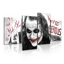 ' The Joker Batman Why So Serious ' Movie Film Split Canvas Print Wall Art Deco