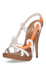 BALLY Damen Sandaletten Zehentrenner echt Leder Sandalen