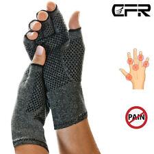 Kompression Handschuhe Anti Arthritis Hände Therapie Ache Halb-Finger Sports CFR