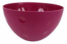 Salatschüssel Schüssel d= 25,5 cm, H= 14 cm, blau, pink, grün