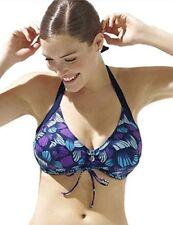 Panache Women's Swim Seychelles Halter Underwire Bikini Top MRSP $70