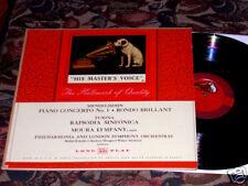 MOURA LYMPANY Mendelssohn Turina His Master's Voice EX+