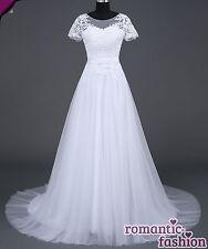 ♥Brautkleid, Hochzeitskleid in Weiß Größe 34-54 zur Auswahl+NEU+SOFORT+W043♥