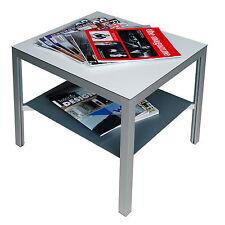 Tavolino leggero in alluminio per ufficio e per sale d'attesa