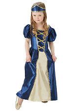 Fancy Dress Costume ~ Renaissance Princess Costume Ages 5 - 10 Years