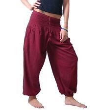 Pluderhose Haremshose Sommerhose Hippie Goa Wellness Yoga Hose