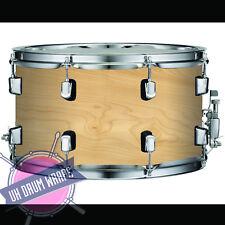 Maple Wood Veneer High gloss  DRUM WRAP ALL SIZES PLASTIC !