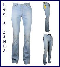Jeans lee uomo a zampa di elefante scampanato svasati elasticizzati slim fit w31