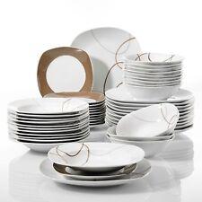 Modern Kitchen Dinnerware Dinner Sets Plates Bowls Crockery Dining Service Gift