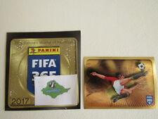 Panini 2017 FIFA 365 Global World of Football Stickers Variants 1~225  (ef2)