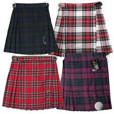 Filles Plissé Tartan Écossais Kilt Jupes-made in Scotland