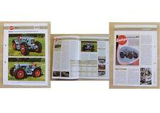 EICHER Allrad Traktor ED 22 / ED 26 / ED 30 / ED 42 1955 Weltbild