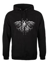 Unorthodox esquelético Mariposa Sudadera Con Capucha Negra para Hombre