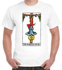 El hombre ahorcado tarjeta Camiseta oculta pagano adivina la suerte Astrología
