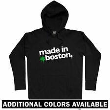 Made in Boston V1 Hoodie - Red Sox Irish Celtics Massachusetts MA - Men S-3XL
