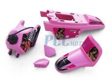 PINK GIRL GRAPHICS DECAL PLASTIC SEAT KIT YAMAHA PW50 PW 50 V DE42+