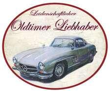 Oldtimer Liebhaber Mercedes SL Türschild