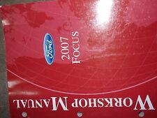 2007 Ford Focus Service Repair Shop Workshop Manual Factory OEM