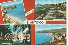 Cartolina Rarissima  SALUTI DA S. ANTIOCO  - CAGLIARI