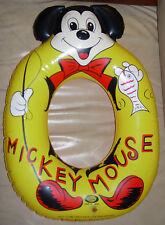 IDEAL MICKEY MOUSE  SWIM RING FLOATY  C. 1960'S  JAPAN  SCRIPT LOGO WDP  DISNEY