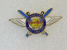 SALT LAKE CITY,Hard Rock Cafe Pin,2nd ANNIVERSARY *Closed Cafe