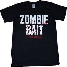 Walking Dead Zombie Bait Official Blood Splatter Print T-Shirt - All Sizes   15F