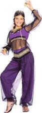 Harem Princess Girls Arabian Nights Fancy Dress Jasmine Kids Costume Age 3-10 Y