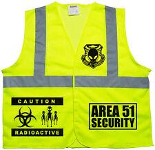 Area 51 Security vest, Alien t shirt, Extraterrestrial, UFO, Security Guard