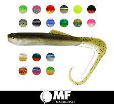 "K.P Baits Hybrid Worm Twister 3"" 7,5 cm 5 pieza de goma peces softbaits Klein"