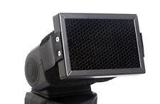Diffuseur à grille nid d'abeilles pour flash cobra Nikon Canon Yongnuo Sony