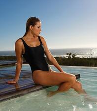 Kiniki Designer Black Ladies Swimsuit/Swimwear Made In England PolyLycra Fabric